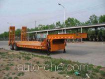 圣岳牌SDZ9340TDP型低平板运输半挂车