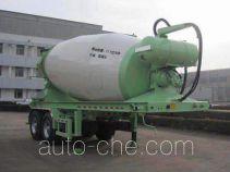 圣岳牌SDZ9350GJB型混凝土搅拌运输半挂车