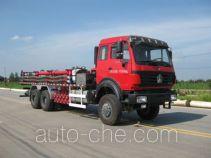 Serva SJS SEV5180TGY oilfield fluids tank truck