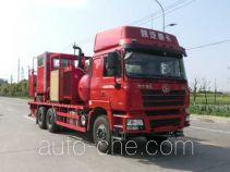 Serva SJS SEV5220TGY oilfield fluids tank truck