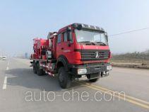 Serva SJS SEV5240TGY oilfield fluids tank truck