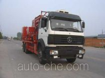 Serva SJS SEV5253TGY oilfield fluids tank truck