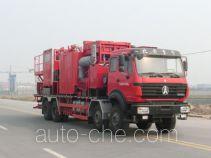 Serva SJS SEV5270TGY oilfield fluids tank truck