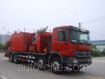 Serva SJS SEV5280TGY240 oilfield fluids tank truck