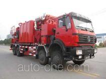 Serva SJS SEV5281TGY480 oilfield fluids tank truck
