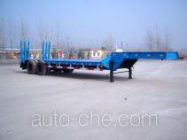 景阳岗牌SFL9240TDP型低平板半挂车