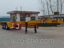 景阳岗牌SFL9390TJZGD型集装箱运输半挂车