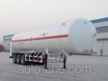 景阳岗牌SFL9400GDY型低温液体运输半挂车