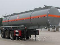 景阳岗牌SFL9400GFW型腐蚀性物品罐式运输半挂车