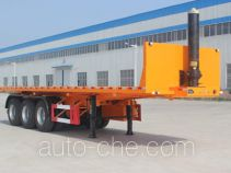 景阳岗牌SFL9400ZZXP型平板自卸半挂车