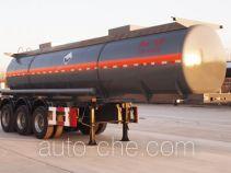 景阳岗牌SFL9401GFW型腐蚀性物品罐式运输半挂车