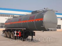 景阳岗牌SFL9404GRY型易燃液体罐式运输半挂车