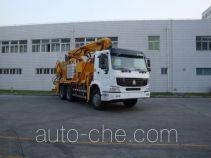 Jet concrete pump truck
