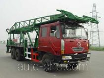 Freet Shenggong SG5221TLF vertical mounting derrick truck
