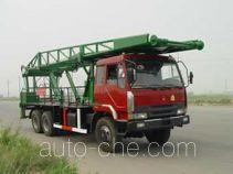 Freet Shenggong SG5222TLF vertical mounting derrick truck