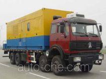 Freet Shenggong SG5280TDZ nitrogen gas booster truck