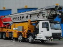 Shenxing (Shanghai) SG5310TSD telescopic belt conveyor truck