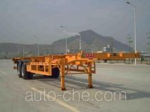 Shekou Port Machinery SGJ9350TJZG container transport trailer
