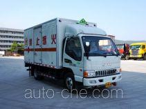 韶液牌SGQ5070XRQJG5型易燃气体厢式运输车