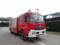 上格牌SGX5130TXFGF30/EQ型干粉消防车