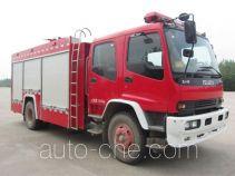 Shangge SGX5162GXFSG55/QL fire tank truck