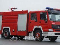 Shangge SGX5191GXFSG80 fire tank truck