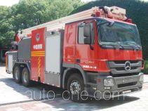 Shangge SGX5290JXFJP32 high lift pump fire engine