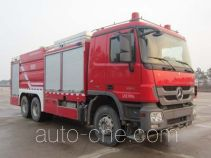 Shangge SGX5290TXFGP120 dry powder and foam combined fire engine