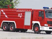 Shangge SGX5321GXFSG170ZZ fire tank truck