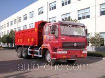 华威驰乐牌SGZ3250ZZ3J38型自卸汽车