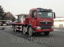 华威驰乐牌SGZ3310PZZ5T5型平板自卸车