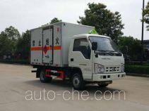 华威驰乐牌SGZ5038XRYBJ4型易燃液体厢式运输车