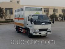 Sinotruk Huawin SGZ5048XFWJX4 corrosive goods transport van truck