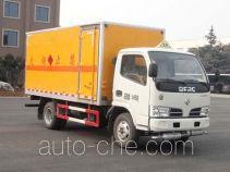 华威驰乐牌SGZ5048XRQDFA4型易燃气体厢式运输车