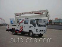 华威驰乐牌SGZ5050JGKQL3型高空作业车