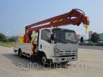 华威驰乐牌SGZ5070JGKQL4型高空作业车