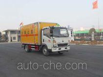华威驰乐牌SGZ5088XQYZZ4型爆破器材运输车