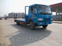 华威驰乐牌SGZ5130TPBCA3型平板运输车