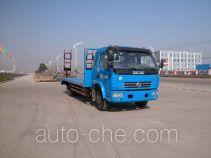 华威驰乐牌SGZ5120TPBEQ3型平板运输车
