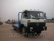 华威驰乐牌SGZ5128TPBEQ4型平板运输车
