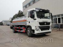 华威驰乐牌SGZ5160GYYZZ4T5型运油车