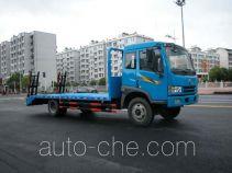华威驰乐牌SGZ5160TPBCA3型平板运输车