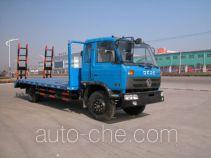 华威驰乐牌SGZ5160TPBEQ3型平板运输车