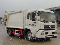 华威驰乐牌SGZ5160ZYSD4BX4型压缩式垃圾车