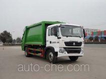 华威驰乐牌SGZ5161ZYSZZ5T5型压缩式垃圾车