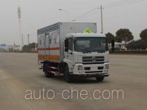 华威驰乐牌SGZ5168XFWD4BX5型腐蚀性物品厢式运输车