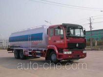 华威驰乐牌SGZ5250GFLZZ3J44型粉粒物料运输车