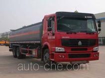 华威驰乐牌SGZ5250GHYZZ3W型化工液体运输车