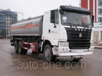 华威驰乐牌SGZ5250GHYZZ3Y46型化工液体运输车