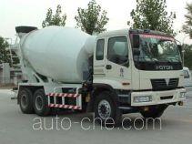 华威驰乐牌SGZ5250GJBBJ型混凝土搅拌运输车